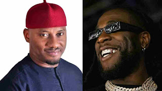 Yul Edochie and Burna Boy