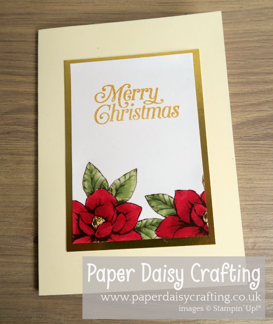 Magnolia Lane Cards and More Christmas Card Stampin Up