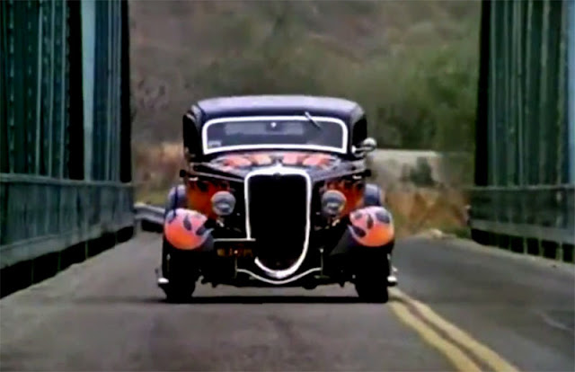 the california kid movie car