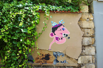 Sunday Street Art : Mr Pee - rue des Cascades - Paris 20