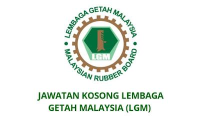 Jawatan Kosong Lembaga Getah Malaysia 2019 (LGM)