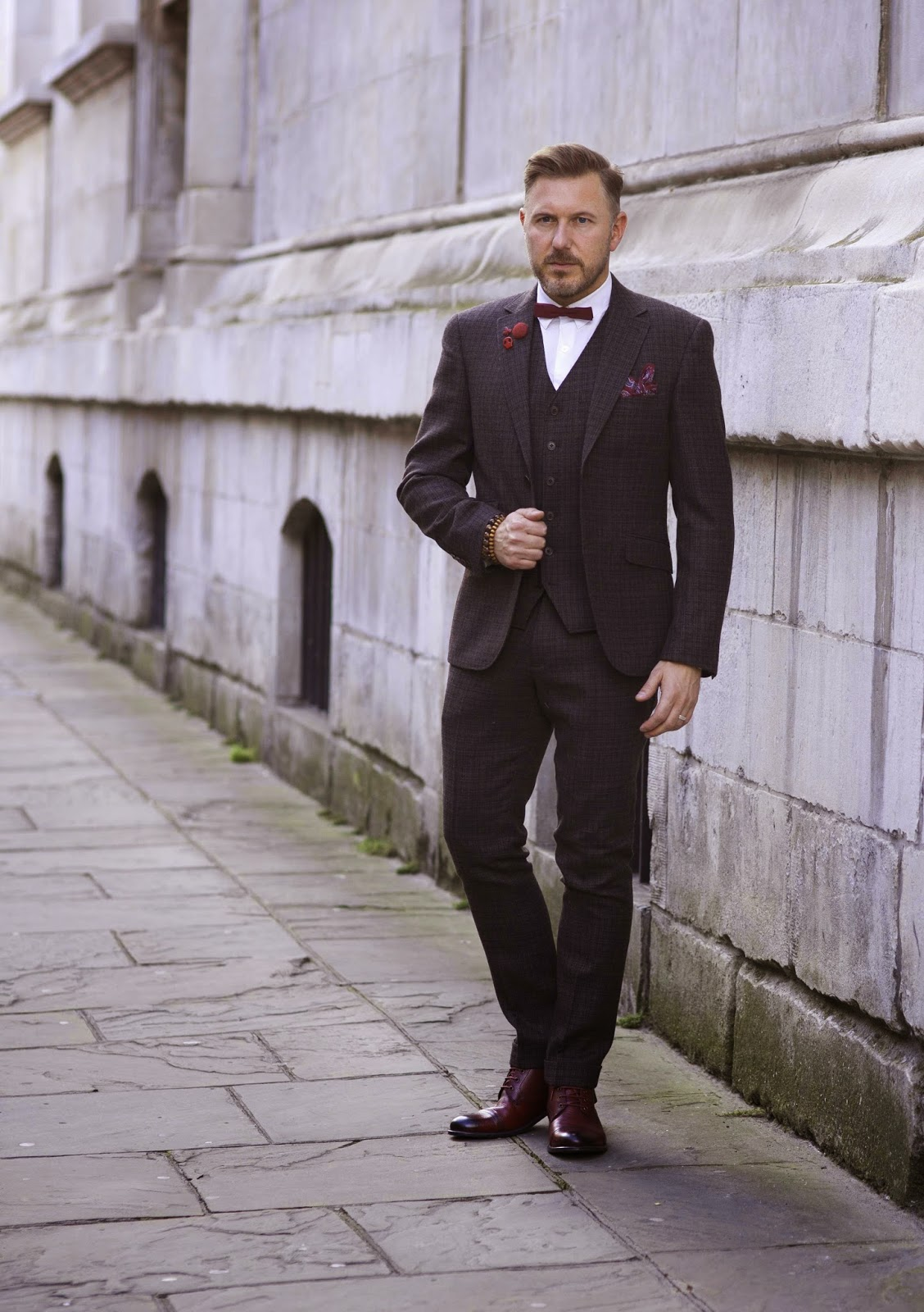 Six Looks With A Three Piece Suit