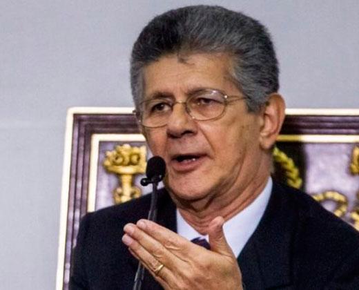Ramos Allup denunció posible detención de tres dirigentes políticos