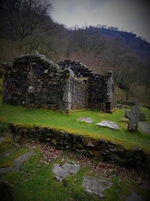 Reefert Church, Glendalough, Wicklow.