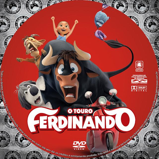 Label DVD O Touro Ferdinando [Exclusiva]