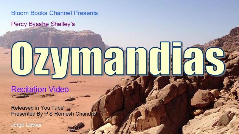 hamlet v ozymandias Free essay: the superego behind the id in ozymandias ozymandias written by percy shelley, represents the psychological forces of the id as well.
