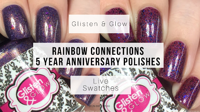 Glisten and Glow Rainbow Connection Anniversary Duo