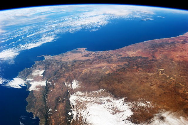 South Africa seen from the International Space Station