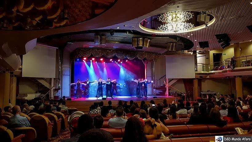 Shows no teatro - Cruzeiros marítimos: tudo sobre viagem de navio