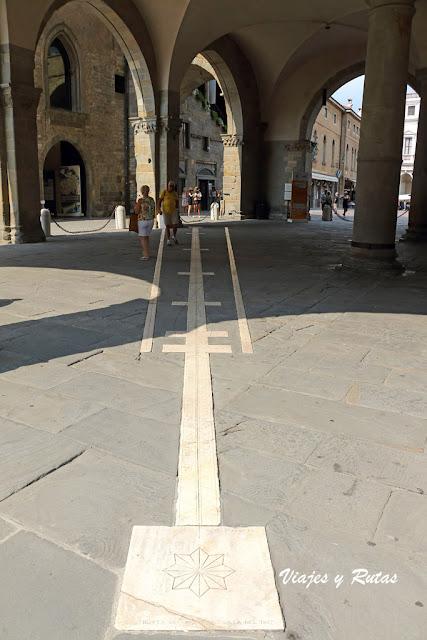 Reloj de sol, Bergamo