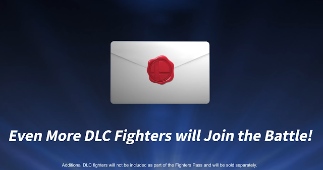Super Smash Bros. Ultimate even more additional DLC fighters wave 2 newcomer letter envelope