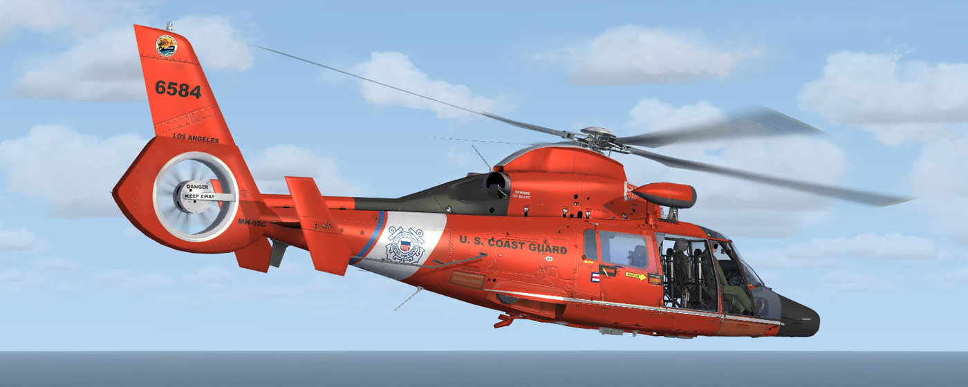 FSX/P3D] Cera AS365N3 Helicopter - Master Addons