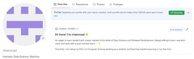اكتشاف سر في GitHub - خاصية تحويل البروفايل إلى سيرة ذاتية