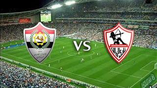 تعادل الزمالك مع الانتاج الحربي 1 - 1 اليوم في الدوري المصري 30-5-2019