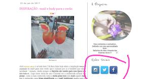 perfil do blog
