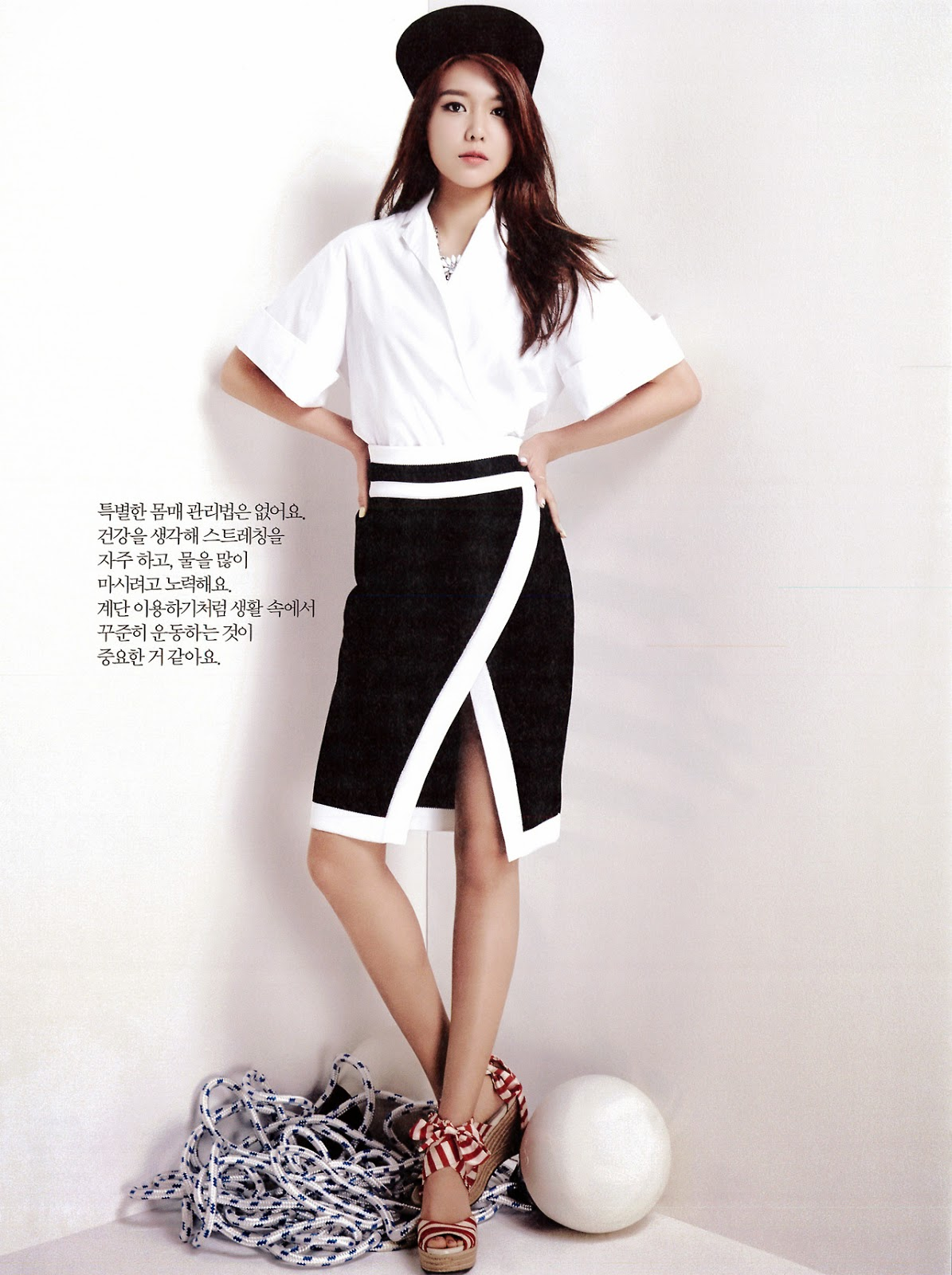 Foto Payudara Seksi Seohyun SNSD di Majalah Cosmopolitan