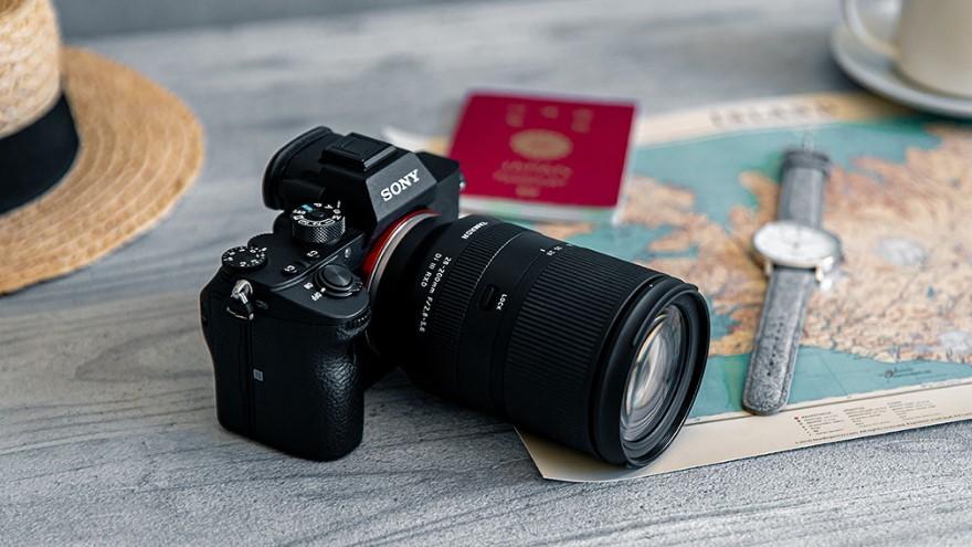 Объектив Tamron 28-200mm f/2.8-5.6 Di III RXD с камерой Sony