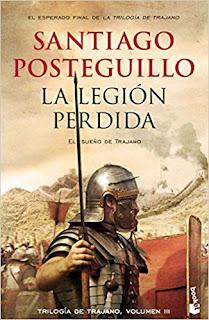 La legion perdida,  Santiago Posteguillo
