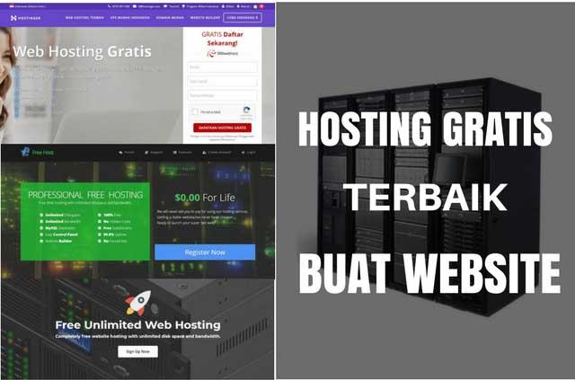 3 Hosting Gratis Terbaik Untuk Belajar Membuat Website Sendiri