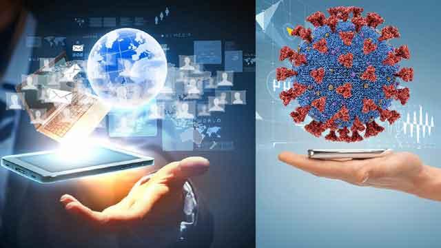 कोरोना काल में टेक्नोलॉजी का अमिट योगदान