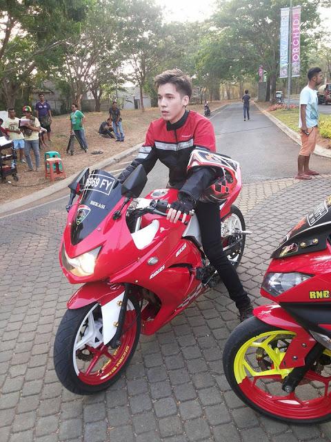 motor yang dipakai boy anak jalanan