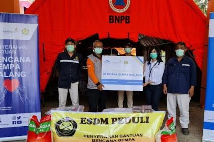 Operator Tambang Mas Banyuwangi Bantu Korban Gempa Malang