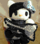PATRON HELLO KITTY ROCKERA AMIGURUMI 2259