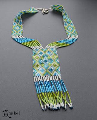 фото изделий из бисера- гердан в этно стиле интернет магазин изделий из бисера ручной работы