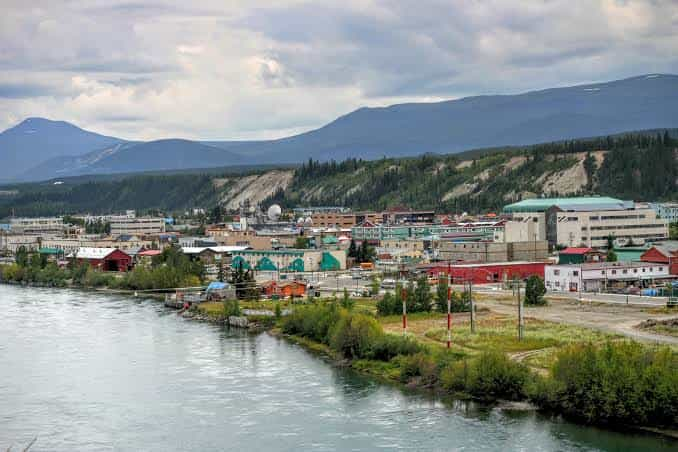 Whitehorse, the capital of the Yukon Territory of Canada