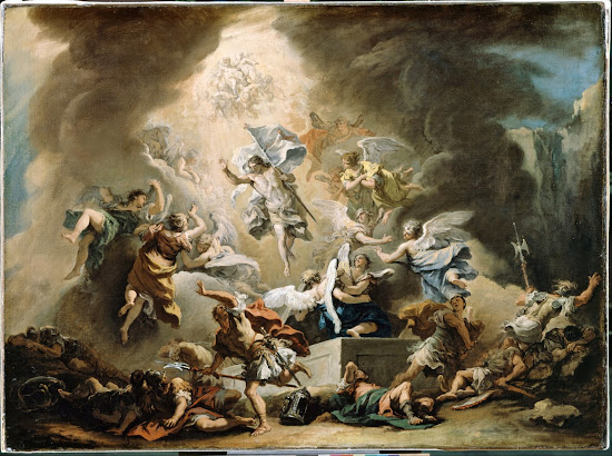The Resurrection by Sebastiano Ricci