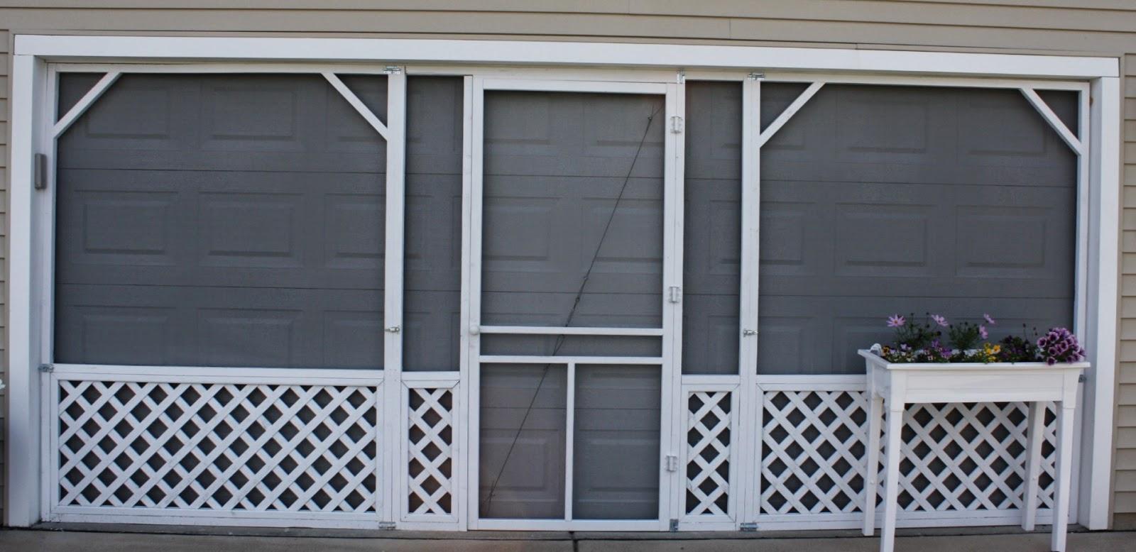 Famous Ryan Homes Florence in Buffalo: DIY Garage Screen TO18