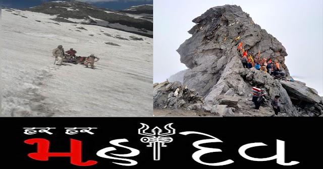 जय श्रीखंड महादेव: भोले की कृपा और ITBP का साहस- 16000 फीट पर फंसा युवक बचाया गया