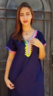 قماش القفطان المغربي