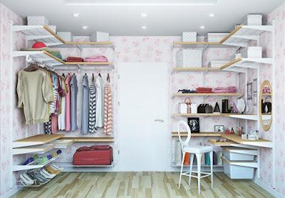 modern dressing room design layout wardrobe interior design 2019
