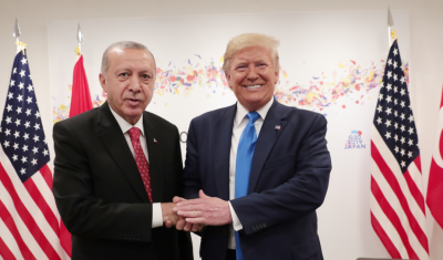 شاهد ماذا قالت مستشارة رئيس تركيا عن اردوغان وترامب