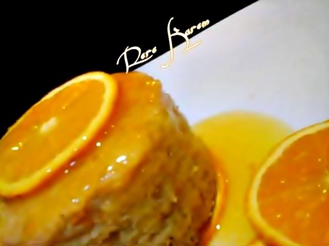 كيك البرتقال بصوص البرتقال
