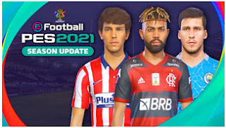 Download PES 2021 PPSSPP English Version Edition CV2 Camera PS5 Fix Cursor & Update New Latest Transfer