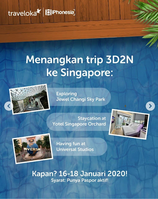 Photo Competitions dan Menangkan Jalan-Jalan ke Singapura 3D2N