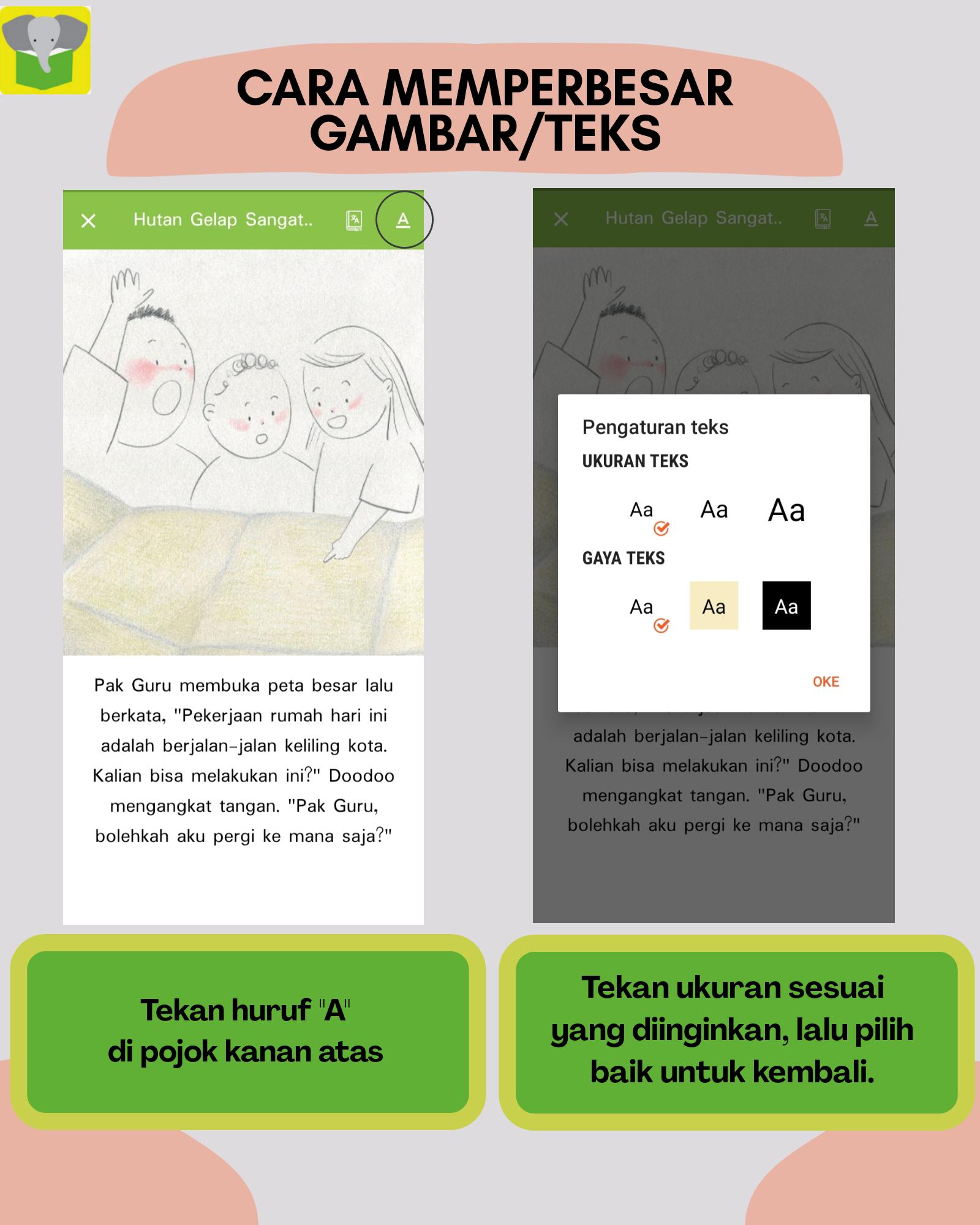 Keistimewaan aplikasi Let's Read