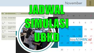 Jadwal Simulasi UBKD Asesmen Nasional