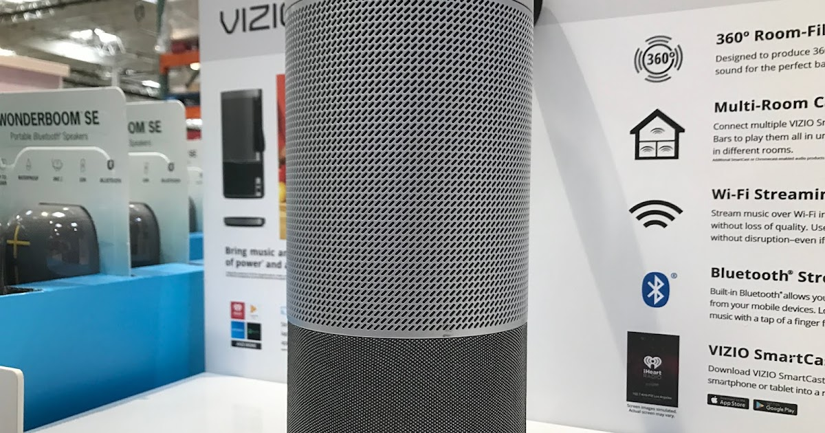 Vizio Crave 360 Smartcast Speaker (SP-50) | Costco Weekender