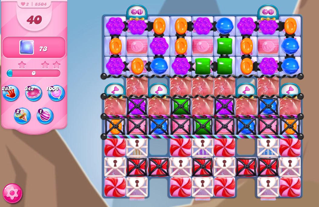 Candy Crush Saga level 8504