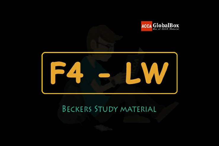 F4 - Corporate and Business Law (LW) | BPP Study Material, Accaglobalbox, acca globalbox, acca global box, accajukebox, acca jukebox, acca juke box,