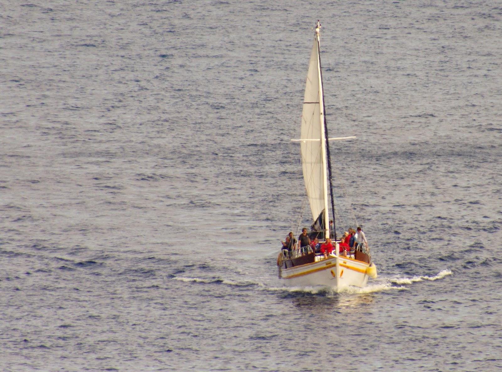 o Ventura do Mar regressa de mais uma viagem