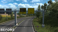 ets 2 realistic signs v1.1 screenshots 3