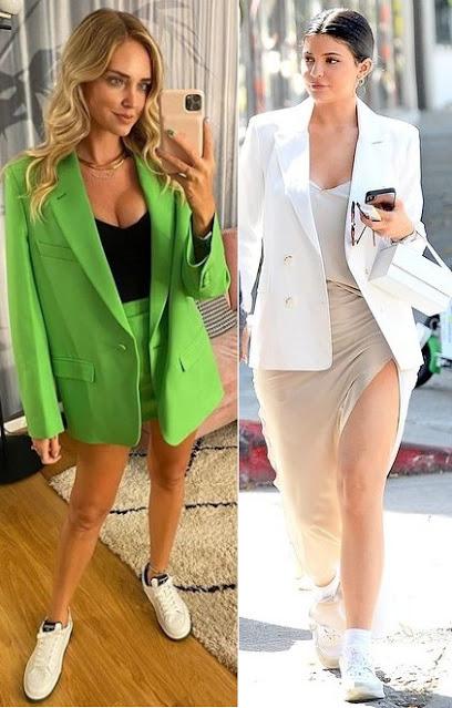 12 Looks estilosos com tênis, Chiara Ferragni, Kylie Jenner