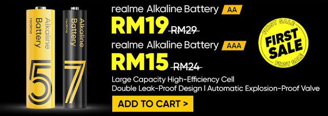 Realme Alkaline Battery