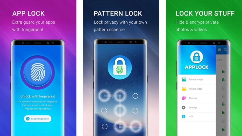 App lock  - Applock Fingerprint Pro screenshot 840x472 - *New* Top 10 Best App Locks and Privacy Lock for Android Devices