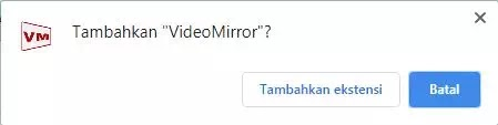 cara mirroring video di google meet-2