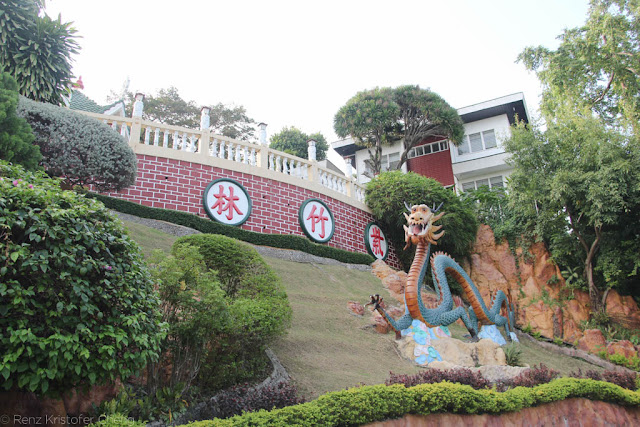 China-like scenery in Philippine Taoist Temple